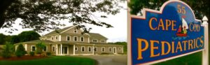 Cape Cod Pediatrics building & sign