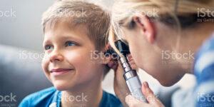 child ear exam