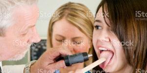 mouth exam