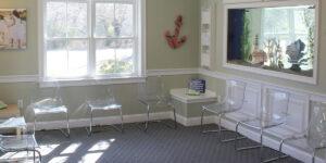 Cape Cod Pediatrics waiting room