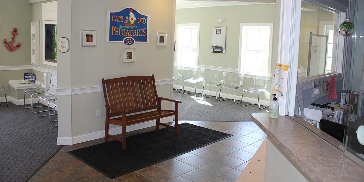 Cape Cod Pediatrics, Pediatric Office Furniture